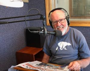 1RPH Radio Reading volunteer Rob Lawson